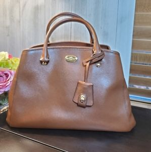 Gently used Coach small tote with strap